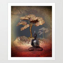 silence -7- Art Print