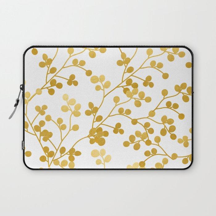 Golden Vines #society6 #decor #buyart Laptop Sleeve