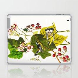 Black and Yellow Warbler Bird Laptop & iPad Skin