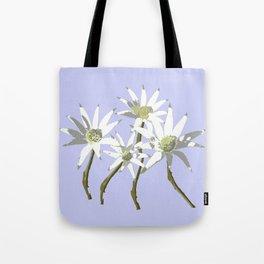 Flannel Flowers Actinotus helianthi Tote Bag