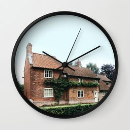 Holiday house in Nottinghamshire Wall Clock