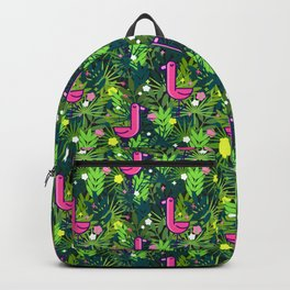 Flamingo and the Tropics Backpack