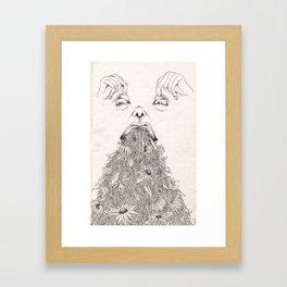 Devoured Concepts Framed Art Print