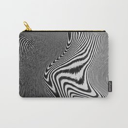 Zebra Topography Carry-All Pouch