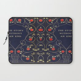 The Story Without An End Book Cover Laptop Sleeve