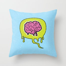 Zombie Thoughts Throw Pillow