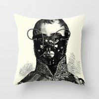 bdsm Throw Pillows featuring BDSM XXVII by DIVIDUS
