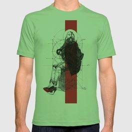 Red Lines. T. Golden Ratio. Baphomet. Yury Fadeev T-shirt