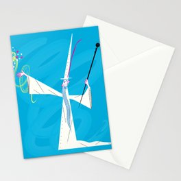 The Wizard Stationery Cards