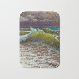 wild waves Bath Mat