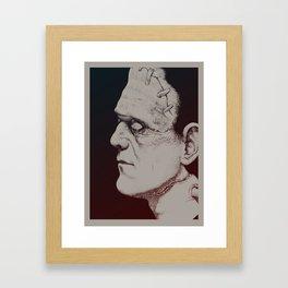 Monster Masters: Boris Karloff Framed Art Print