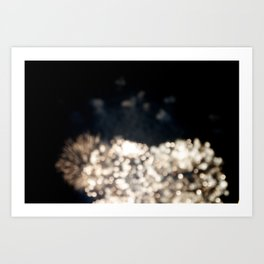fireworks IV Art Print
