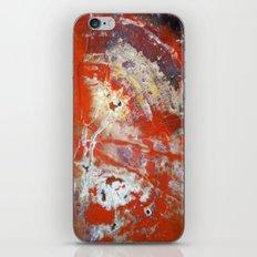 Red Wood iPhone & iPod Skin