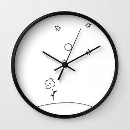 Le Petit Rose Wall Clock