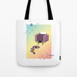 Printer Pee Tote Bag