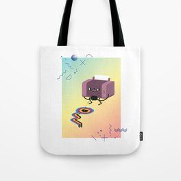 Printer Pee Tote Bag