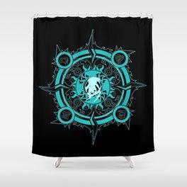 Ixion fayth Shower Curtain