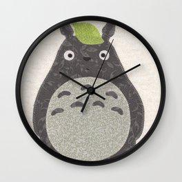 My Neighbor Patchwork Wall Clock