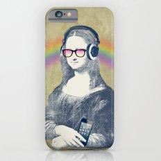 Modern Lisa (with smartphone) iPhone 6s Slim Case