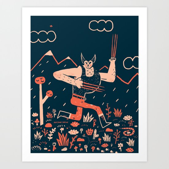 Wolverine is the Snikt Art Print