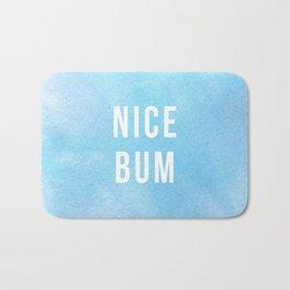 Nice Bum (Pastel Blue) Bath Mat