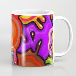 Vibrant Paint Splats Coffee Mug