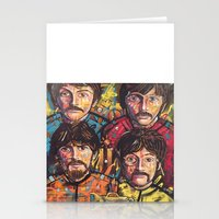 yellow submarine Stationery Cards featuring Yellow Submarine by somanypossibilities