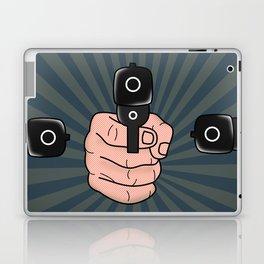 comics gun  Laptop & iPad Skin
