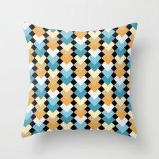 Sea Diamond  Throw Pillow