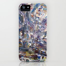 Shattered Curtains iPhone Case
