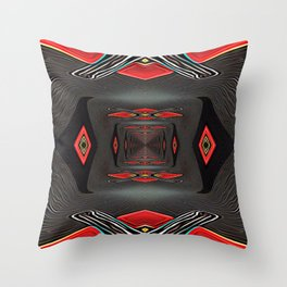 Tunnel of Comfort Throw Pillow