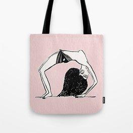 Dancing girl egyptian ostracon Tote Bag