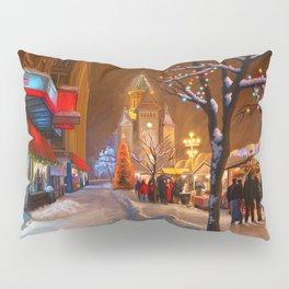 Timisoara Christmas Market Pillow Sham