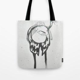 under birds skin Tote Bag