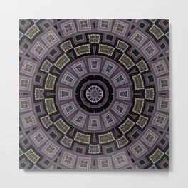 Embroidery beads and beads Metal Print