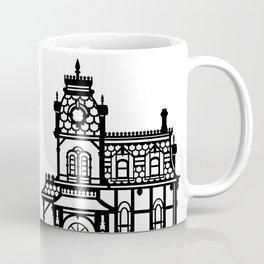 Old Victorian House - black & white Coffee Mug