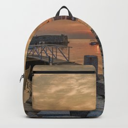 Summer sunset at Lanes Cove Backpack
