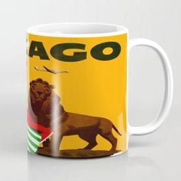 Vintage Chicago Illinois Travel Coffee Mug
