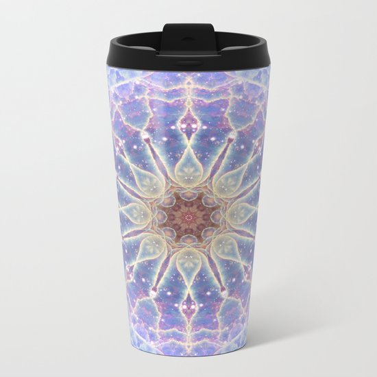 Space Mandala no3 Metal Travel Mug