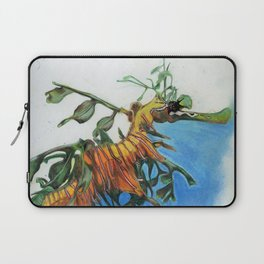 Study of a Leafy Water Dragon Laptop Sleeve