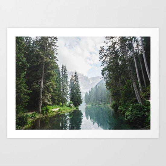 moody landscape Art Print