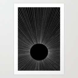 INTO THE VOID Art Print