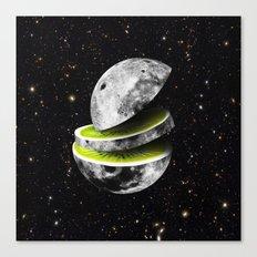 Kiwi Moon Canvas Print