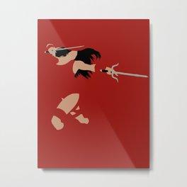 Elektra Natchios Metal Print