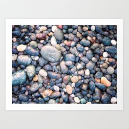 Stones With Style Art Print