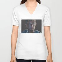 john snow V-neck T-shirts featuring John by br0-harry