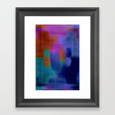 Digital#1 Framed Art Print