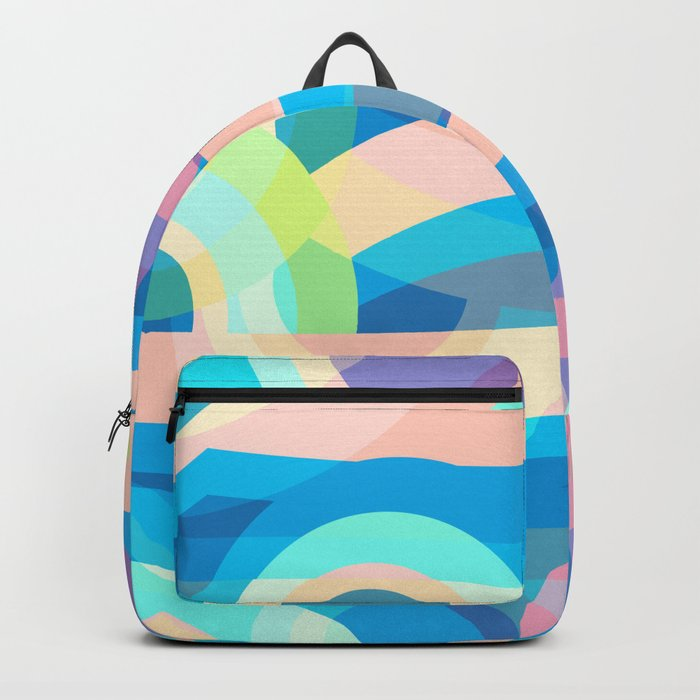 Marine abstraction Backpack