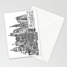Busy City – Frankfurt am Main Stationery Cards