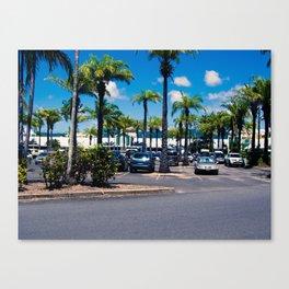 Port Douglas Marina Car Park Canvas Print